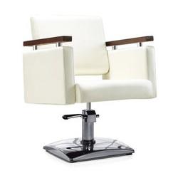 Fotel fryzjerski MILO kremowy BD-1123