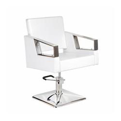 Fotel fryzjerski Arturo BR-3936A biały