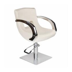 Fotel fryzjerski Nino BD-1131 kremowy