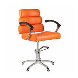 Fotel fryzjerski FIORE pomarańczowy BR-3857