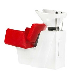 Myjnia fryzjerska Vito BM509 czerwona LUX