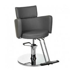Fotel fryzjerski LUIGI BR-3927 szary