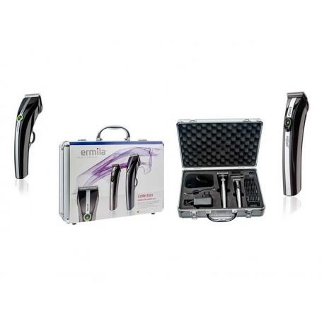 Zestaw maszynek Ermila Motion i Nano w walizce