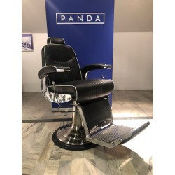 Panda BARBER fotel fryzjerski JAMES z ekspozycji