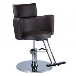 Fotel fryzjerski LUIGI BR-3927 brąz