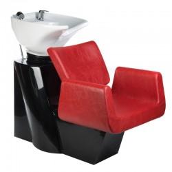 Myjnia fryzjerska Vito BH-8022 czerwona