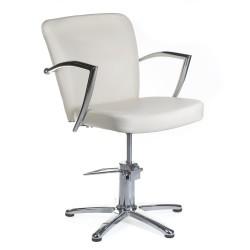 Fotel fryzjerski LIVIO kremowy BH-8173