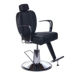 Fotel barberski OLAF BH-3273 Czarny