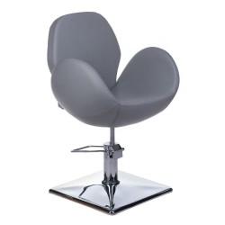 Fotel fryzjerski ALTO BH-6952 jasno szary
