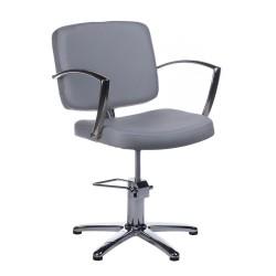 Fotel fryzjerski Dario jasno szary BH-8163