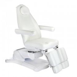 Elektryczny fotel kosmetyczny Mazaro BR-6672A Biał