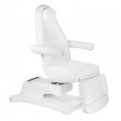 Elektryczny fotel kosmetyczny Mazaro BR-6672 Biały