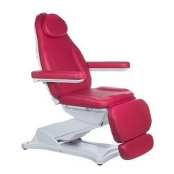 Elektr fotel kosmetyczny MODENA BD-8194 Malinowy