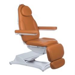 Elektr fotel kosmetyczny MODENA BD-8194 Jasny Brąz