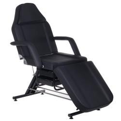 Fotel kosmetyczny z kuwetami BW-262A czarny