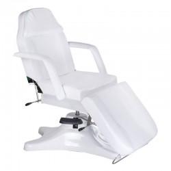 Fotel kosmetyczny hydrauliczny BD-8222 Biały