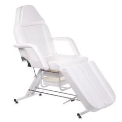 Fotel kosmetyczny z kuwetami BW-263 biały