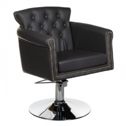 Fotel fryzjerski ALBERTO BH-8038 szary
