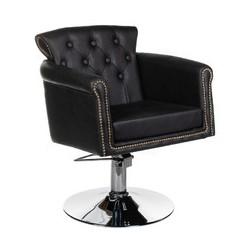Fotel fryzjerski ALBERTO BH-8038 czarny