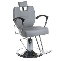 Fotel barberski HEKTOR BH-3208 Jasno Szary
