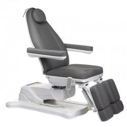 Elektryczny fotel kosmetyczny Mazaro BR-6672A Szar