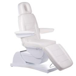 Elektr fotel kosmetyczny Bologna BG-228-4 biały