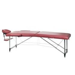 Stół do masażu i rehabilitacji BS-723 Burgund