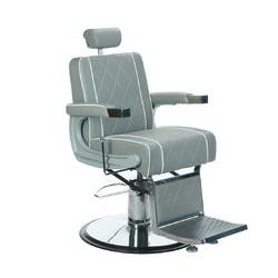Fotel barberski ODYS BH-31825M Jasny Szary