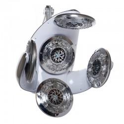Infrazon wiszący BB-6082E srebrno-szary