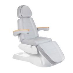 Fotel kosmetyczny elektr LUX BW-273B Jasny Szary