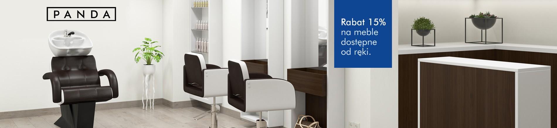Urządź swój salon fryzjerski od ręki. Najlepsze ceny, profesjonalna obsługa i najwyższa jakość od Pandy